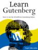 Thumbnail Learn Gutenberg WordPress Editor