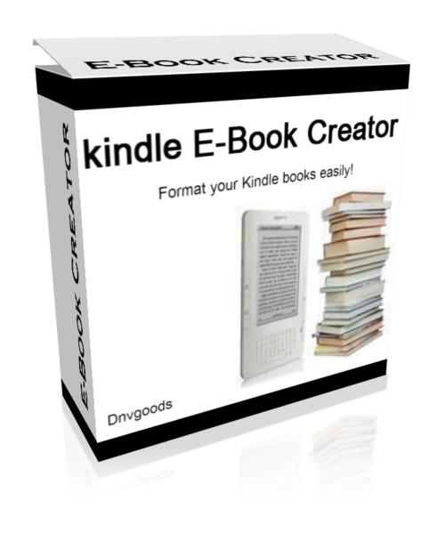 Pay for kindle E-Book Creator