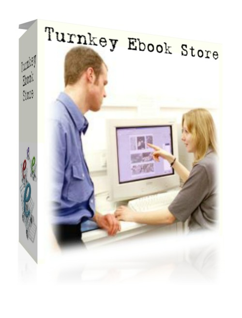 Pay for Turnkey E-Book Store