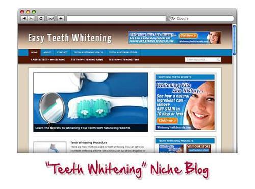 Pay for Teeth Whitening WordPress Blog.zip