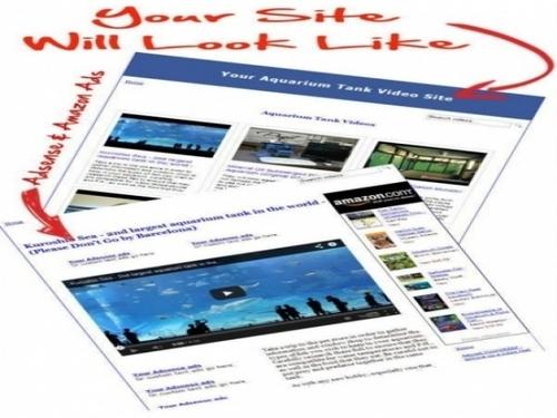 Pay for Aquarium Video Site Maker