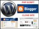 Thumbnail Blogger WordPress LiveJournal Typepad Blog PHP Clone Script