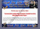 Thumbnail Professional Landing Page Template