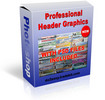 Thumbnail Professional Header Graphic Templates With PLR