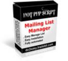 Thumbnail Easy Mailing List Management Script