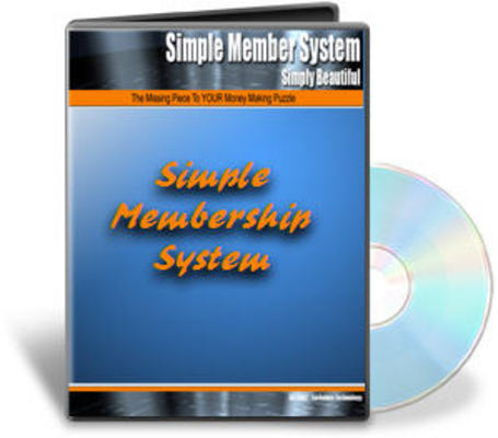 Pay for PHP Membership Site Script With Master Resell Right