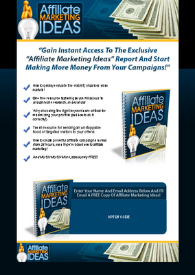 Pay for Affiliate Marketing Ideas - Hot PLR #1