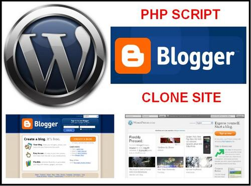 Pay for Blogger WordPress LiveJournal Typepad Blog PHP Clone Script