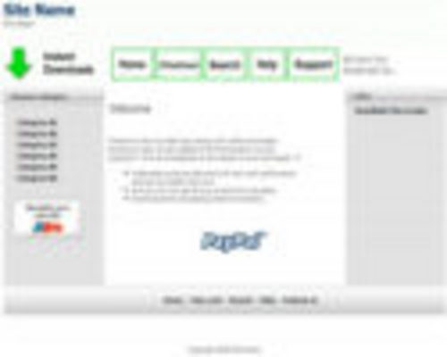 Pay for Digital Store Shopping Cart - Sell Digital Downloads