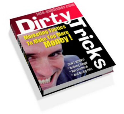 Pay for Dirty Tricks Of Affiliate Marketing