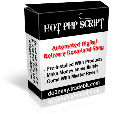Pay for Digital Delivery Download Shop Script
