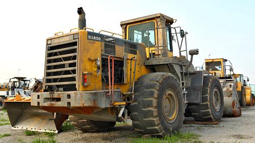 komatsu wa600 6 galeo wheel loader service repair manual download