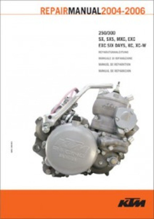 Pay for 2004-2006-250 300 sx mxc exc ex w E service repair manual