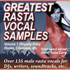 Thumbnail Greatest Rasta Vocal Samples Vol 1, WMA Format 135+ Loops
