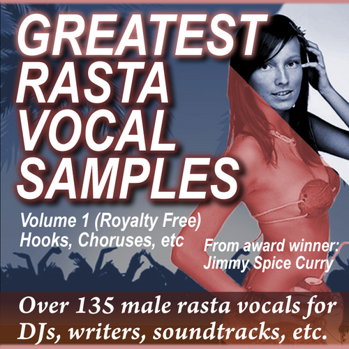 Pay for Greatest Rasta Vocal Samples Vol 1, WMA Format 135+ Loops