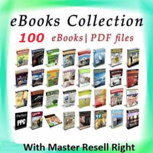 Pay for 100 Master Resell Rights eBooks Vol. 2