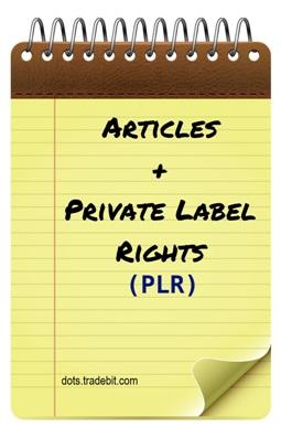 Pay for 25 PLR Personal Finance Articles + Bonus eBook