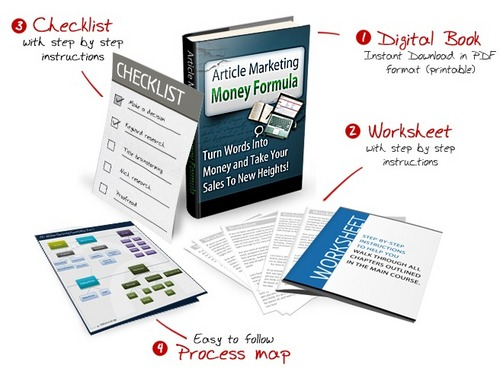 Pay for Article Marketing Money Formula