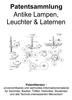Thumbnail Antike Lampen, Leuchter und Laternen - Patentsammlung