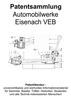 Thumbnail Die Technik der Automobilwerke Eisenach VEB - Wartburg