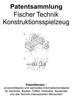 Thumbnail Fischer Technik Konstruktionsspielzeug - Patentsammlung