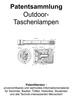 Thumbnail Outdoor-Taschenlampen - Technik Zeichnungen Beschreibungen