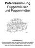 Thumbnail Puppenhäuser und Puppenmöbel - Technik Skizzen Beschreibung
