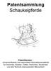 Thumbnail Schaukelpferde Technik nostalgisch modern Zeichnungen Patent