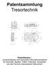 Thumbnail Tresortechnik - Entwicklungen Beschreibungen Zeichnungen