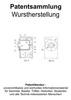 Thumbnail Wurstherstellung Wurstverarbeitung - Technik Zeichnungen