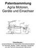 Thumbnail AGRIA Motoren, Geräte, Einachser Technik Zeichnungen Design