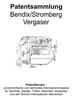 Thumbnail Bendix Stromberg Vergaser - Technik Zeichnungen Beschreibung