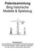 Thumbnail Bing historische Modelle und Spielzeug - Technik Zeichnungen
