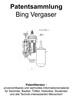 Thumbnail Bing Vergaser - Technik Entwicklungen Skizzen Beschreibungen
