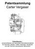 Thumbnail Carter Vergaser - Technik Beschreibung Zeichnungen Skizzen