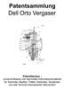 Thumbnail Dell Orto Vergaser - Technik Zeichnungen Beschreibung Patent
