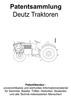 Thumbnail Deutz Traktoren, Ackergeräte und Zubehör Technik Zeichnungen