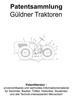 Thumbnail Güldner Traktoren und Geräte - Technik Zeichnungen Skizzen
