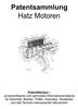 Thumbnail Hatz Motoren - Technik Entwicklungen Zeichnungen Skizzen