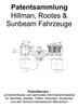 Thumbnail Hillman, Rootes, Sunbeam Fahrzeuge - Technik Entwicklungen