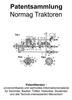 Thumbnail Normag Traktoren & Zubehör - Technik Beschreibungen Skizzen