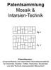 Thumbnail Mosaik- und Intarsientechnik - Entwicklungen Zeichnungen