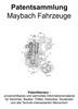Thumbnail Maybach Fahrzeuge - Technik Entwicklungen Zeichnungen Patent