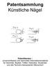 Thumbnail Künstliche Nägel - Technik Entwicklungen Zeichnungen Patente