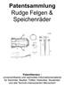 Thumbnail Rudge Felgen und Speichenräder - Technik Beschreibung Patent