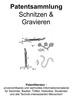 Thumbnail Schnitzen und Gravieren - Ideen Technik Beschreibung Skizzen