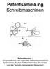 Thumbnail Schreibmaschinen Fernschreiber - Technik Beschreibung Patent