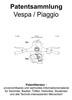 Thumbnail Vespa Piaggio Roller - Technik Zeichnungen Beschreibungen