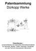 Thumbnail Dürkopp Werke - Technik Entwicklungen Beschreibung Skizzen