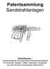 Thumbnail Sandstrahlanlagen und Zubehör - Technik Entwicklungen Patent